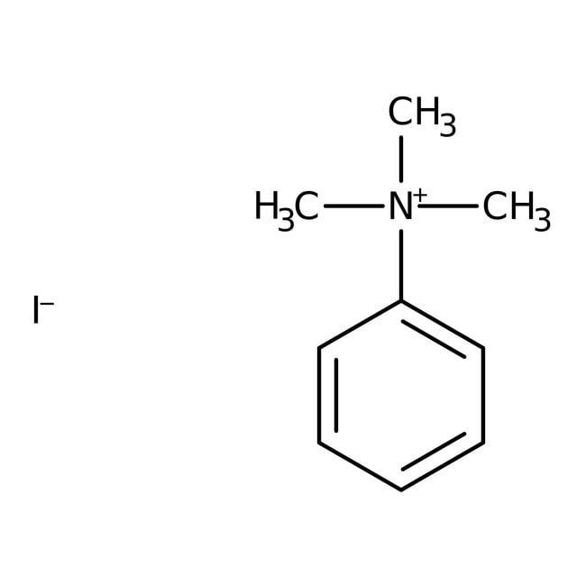 Phenyltrimethylammonium iodide, 99%, Acros Organics