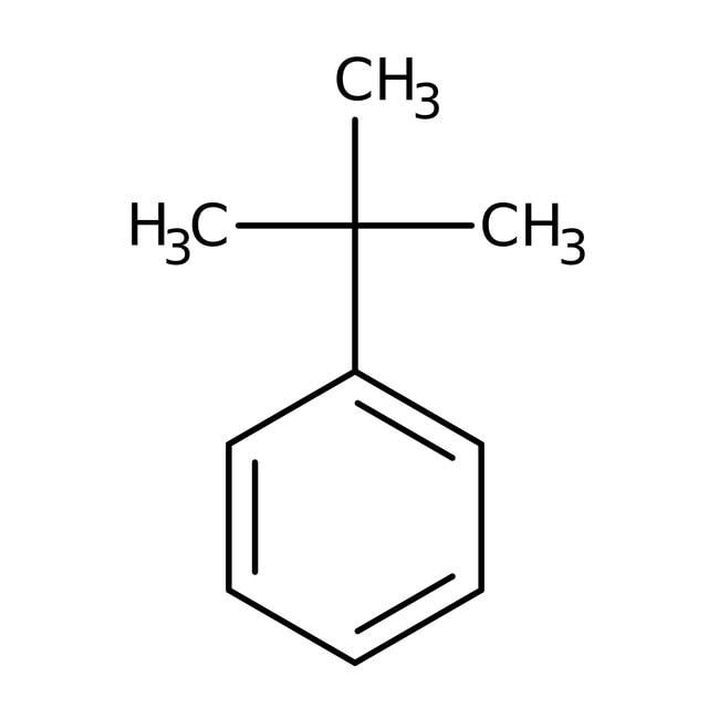 tert-Butylbenzol, 99%, ACROS Organics™ 500ml-Glasflasche tert-Butylbenzol, 99%, ACROS Organics™