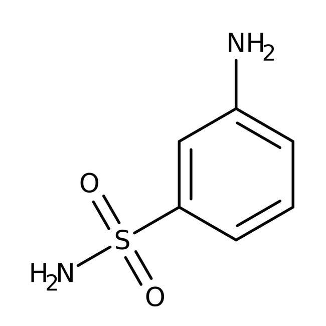 3-Aminobenzene-1-sulfonamide, 97%, Maybridge Amber Glass Bottle; 1g 3-Aminobenzene-1-sulfonamide, 97%, Maybridge