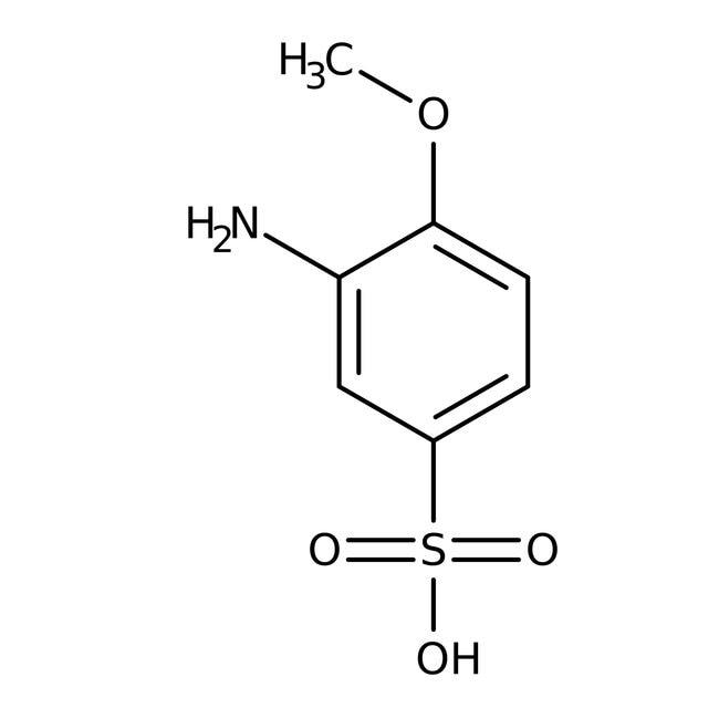 Alfa Aesar™3-Amino-4-methoxybenzenesulfonic acid, 98% 25g Alfa Aesar™3-Amino-4-methoxybenzenesulfonic acid, 98%