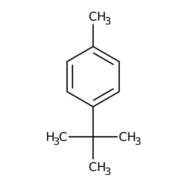 4-tert-Butyltoluene, 96%, ACROS Organics™ 25mL; Glass bottle 4-tert-Butyltoluene, 96%, ACROS Organics™