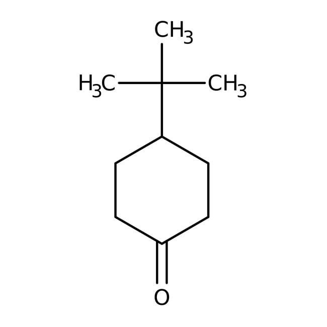 4-tert-Butylcyclohexanone, 99%, ACROS Organics™ 100g; Plastic bottle 4-tert-Butylcyclohexanone, 99%, ACROS Organics™