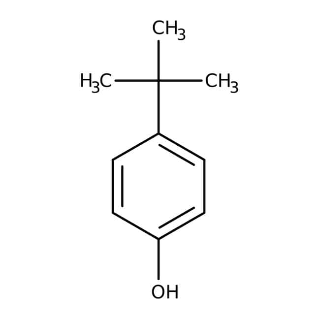 4-tert-Butylphenol, 97%, ACROS Organics™ 2.5kg; Plastic bottle 4-tert-Butylphenol, 97%, ACROS Organics™
