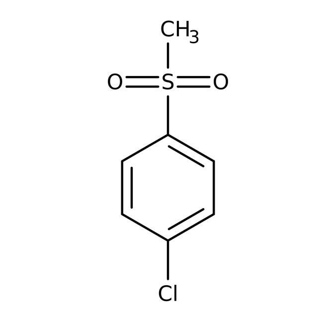 4-Chlorophenyl methyl sulfone, 98%, ACROS Organics