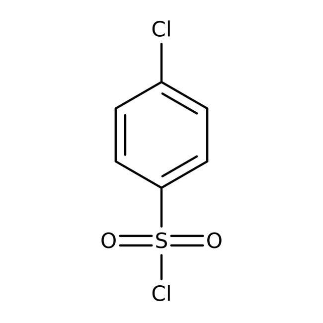4-Chlorobenzenesulfonyl chloride, 97%, ACROS Organics™: Sulfonyl halides Organohalogen compounds