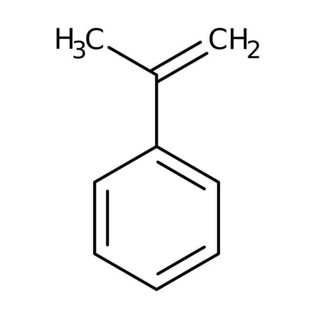 alpha-Methylstyrene, 99%, stabilized, ACROS Organics™