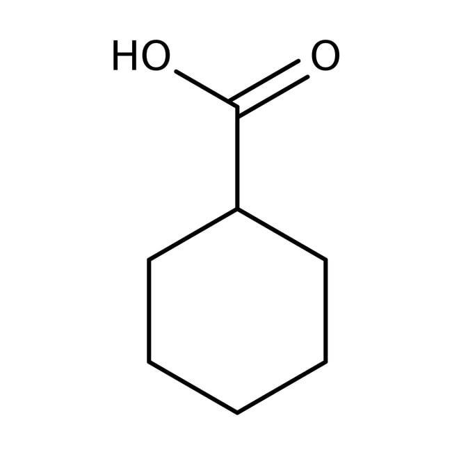 Cyclohexanecarboxylic acid, 98%, ACROS Organics™ 500g; Glass bottle Cyclohexanecarboxylic acid, 98%, ACROS Organics™