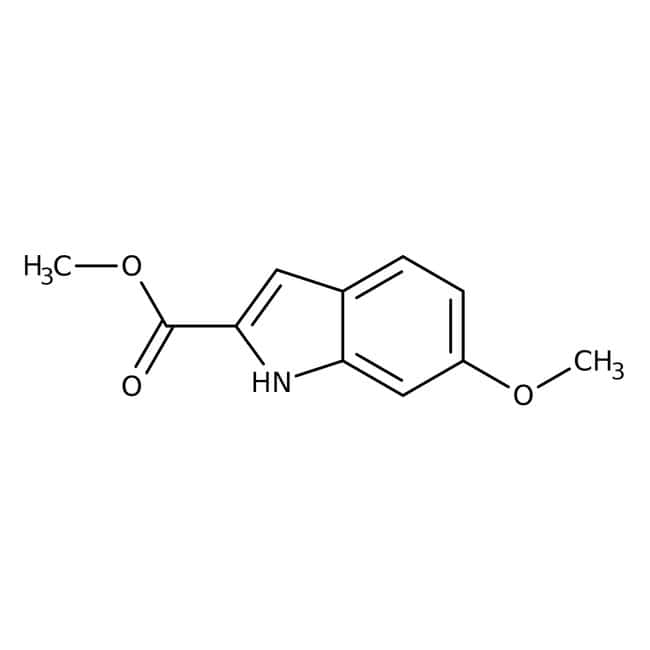 Methyl 6-methoxy-2-indolecarboxylate, 98%, ACROS Organics™