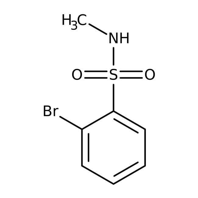 Alfa Aesar™2-Brom-N-Methylbenzenesulfonamid, 97% 250mg Alfa Aesar™2-Brom-N-Methylbenzenesulfonamid, 97%