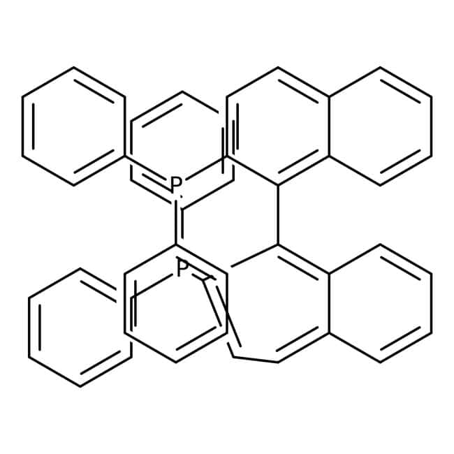 (±)-2,2'-Bis(diphenylphosphino)-1,1'-binaphthyl, 98%, ACROS Organics™