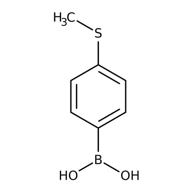 4-(Methylthio)phenylboronic acid, 97%, ACROS Organics