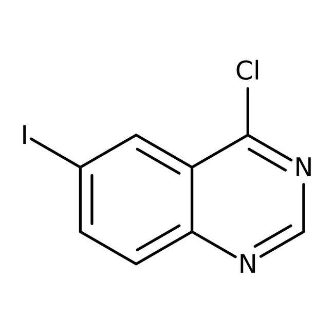 4-Chloro-6-iodoquinazoline, 97%, ACROS Organics™ 5g 4-Chloro-6-iodoquinazoline, 97%, ACROS Organics™