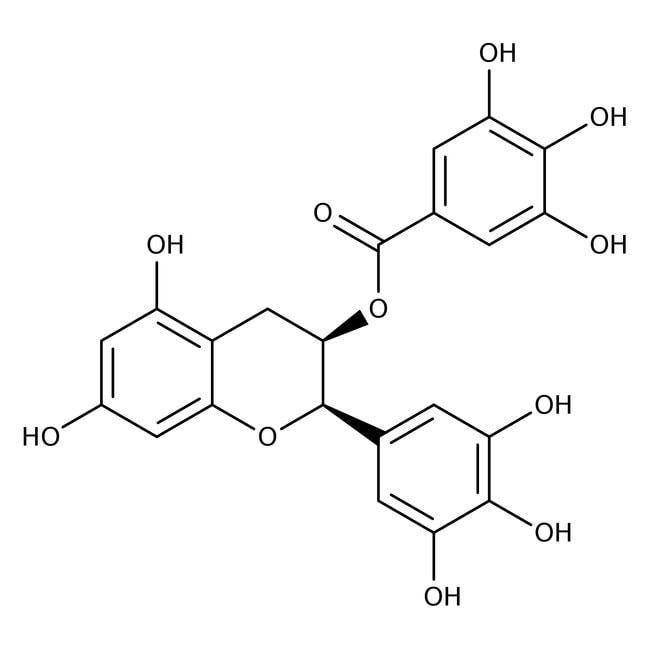 (-)-Epigallocatechin gallate, 95%, Acros Organics