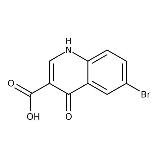 Alfa Aesar™6-Bromo-4-hydroxyquinoline-3-carboxylic acid, 96%