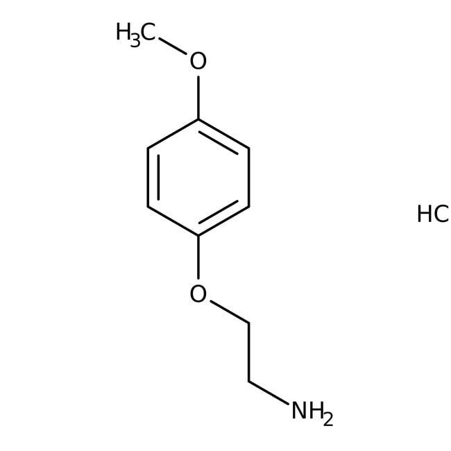 2-(4-methoxyphenoxy)ethanamine hydrochloride, 97%, Maybridge