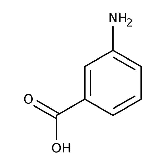 3-Aminobenzoic acid, 99+%, ACROS Organics™