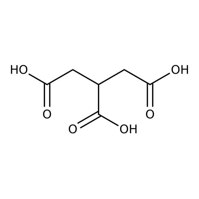 Tricarballylic acid, 99%, ACROS Organics™ 50g Tricarballylic acid, 99%, ACROS Organics™