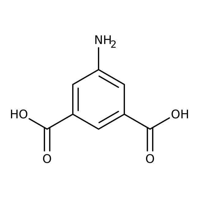 5-Aminoisophthalic acid, 98%, ACROS Organics™ 25g; Plastic bottle 5-Aminoisophthalic acid, 98%, ACROS Organics™