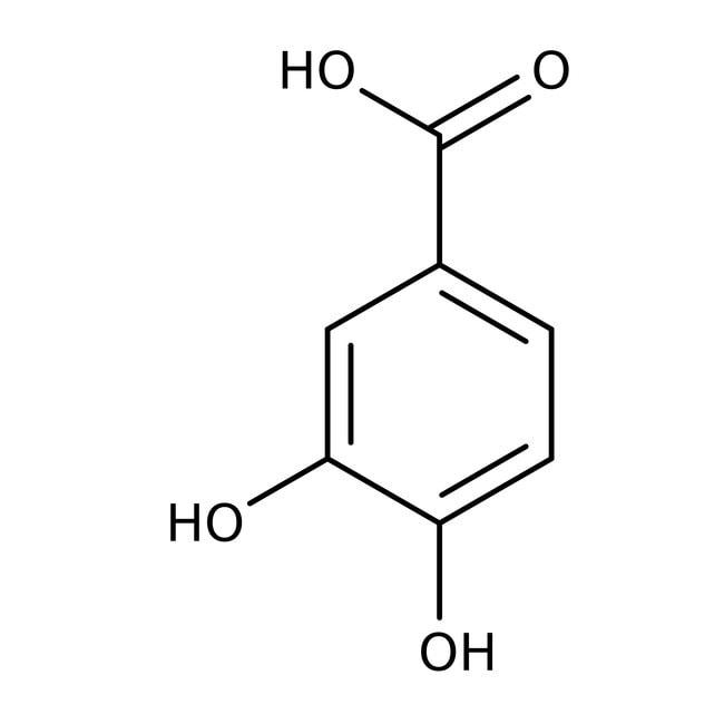 3,4-Dihydroxybenzoic acid, 97%, ACROS Organics™