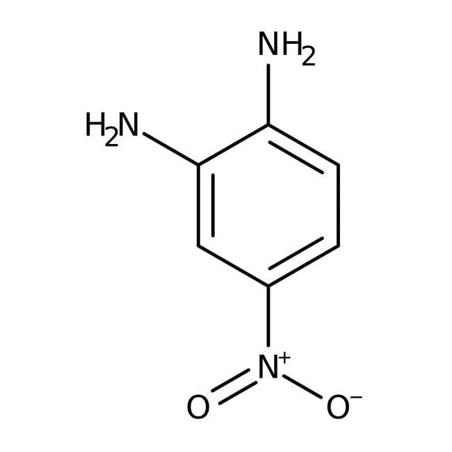 4-Nitro-o-phenylenediamine, 98%, ACROS Organics