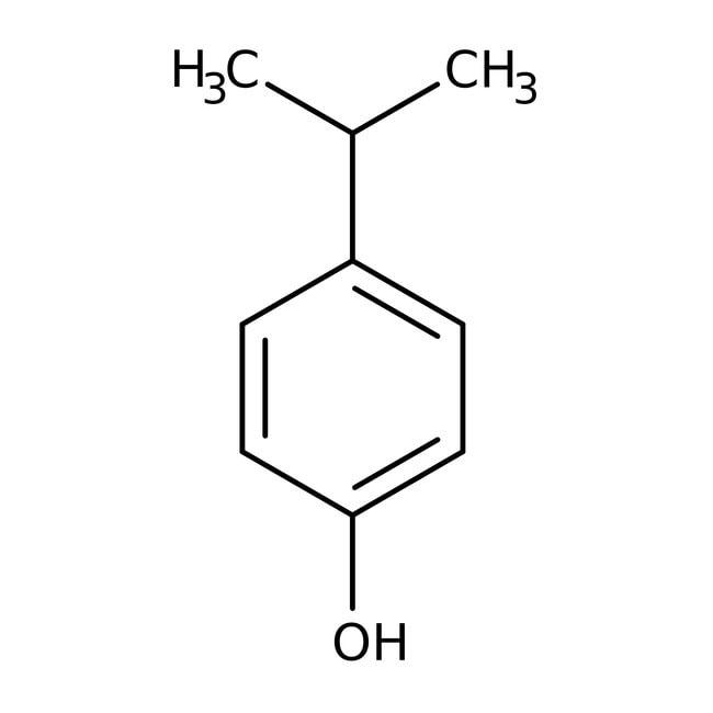 4-Isopropylphenol, 98%, ACROS Organics™ 250g; Glass bottle 4-Isopropylphenol, 98%, ACROS Organics™