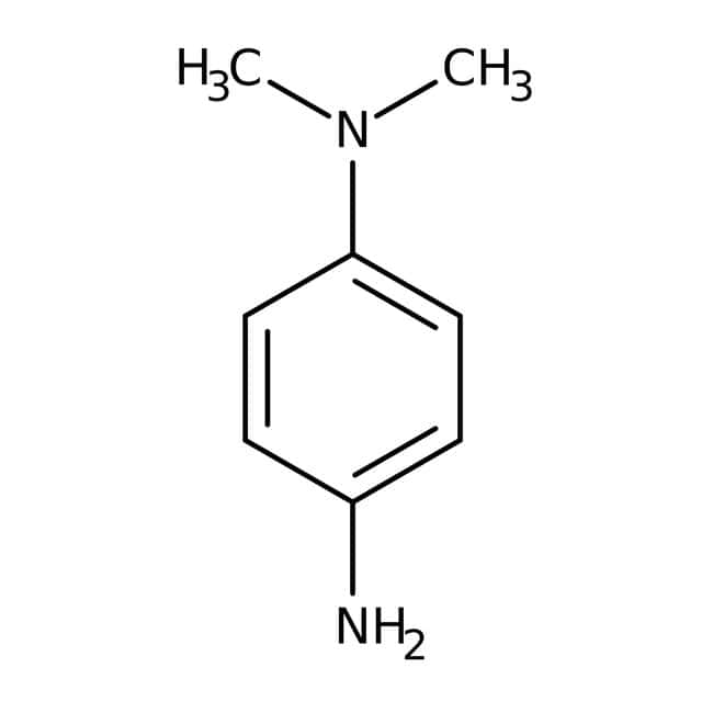 N,N-Dimethyl-p-phenylenediamine, 97%, ACROS Organics™ Glass bottle; 100g N,N-Dimethyl-p-phenylenediamine, 97%, ACROS Organics™