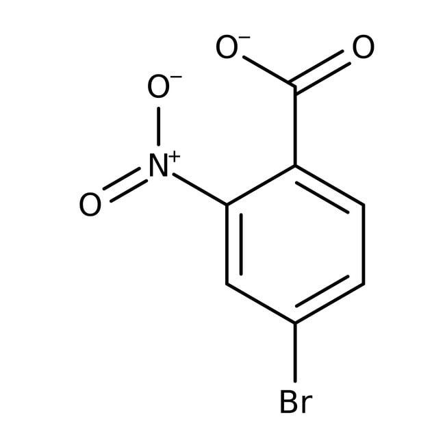 Alfa Aesar™Ácido 4-bromo-2-nitrobenzoico, 97% 1g Alfa Aesar™Ácido 4-bromo-2-nitrobenzoico, 97%