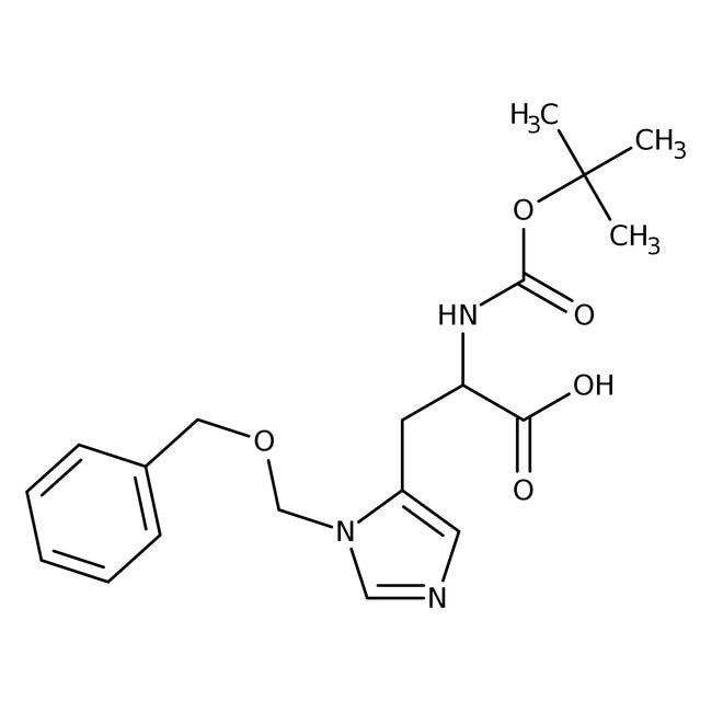 Alfa Aesar  1-Benzyloxycarbonylmethyl-N-Boc-D-histidine, 98%