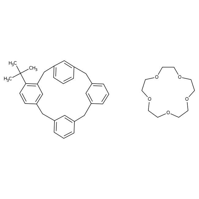 4-tert-Butyl-calix[4]arene-crown-5-complex, 97%, ACROS Organics