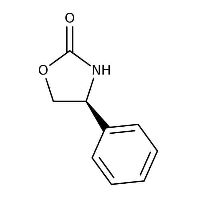(S)-(+)-4-Phenyl-2-oxazolidinone, 99%, ACROS Organics™ 1g; Glass bottle (S)-(+)-4-Phenyl-2-oxazolidinone, 99%, ACROS Organics™