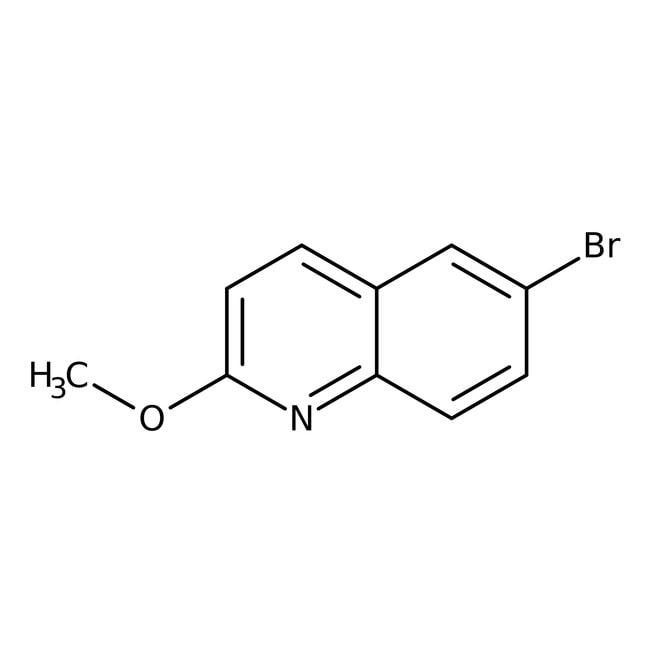 Alfa Aesar™6-Bromo-2-methoxyquinoline, 96%