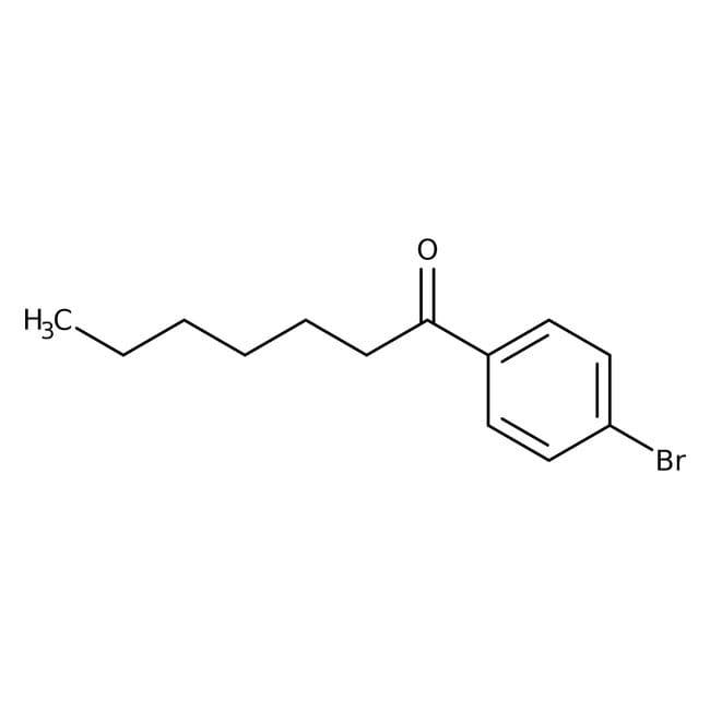 Alfa Aesar™4'-Bromoheptanophenone, 97%