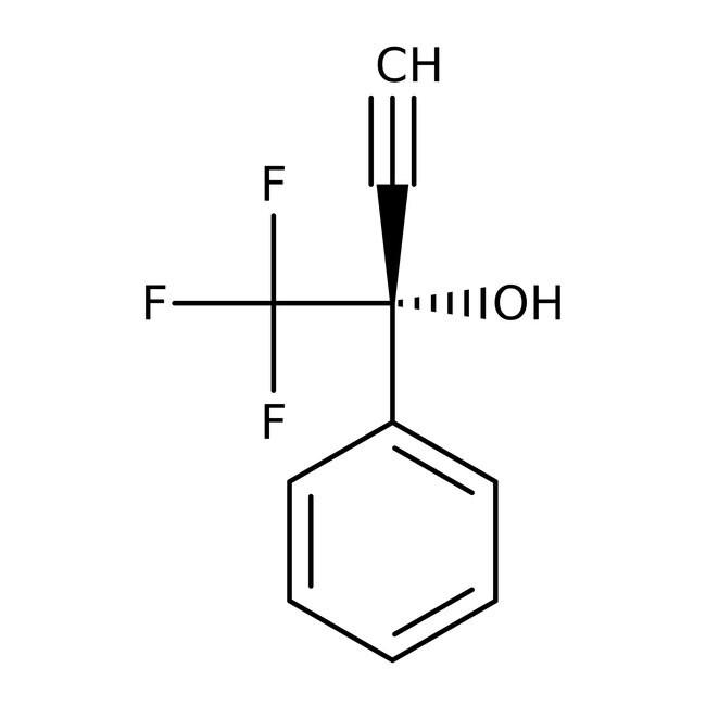 Alfa Aesar™1,1,1-Trifluoro-2-phenyl-3-butyn-2-ol, 96% 1g Alfa Aesar™1,1,1-Trifluoro-2-phenyl-3-butyn-2-ol, 96%