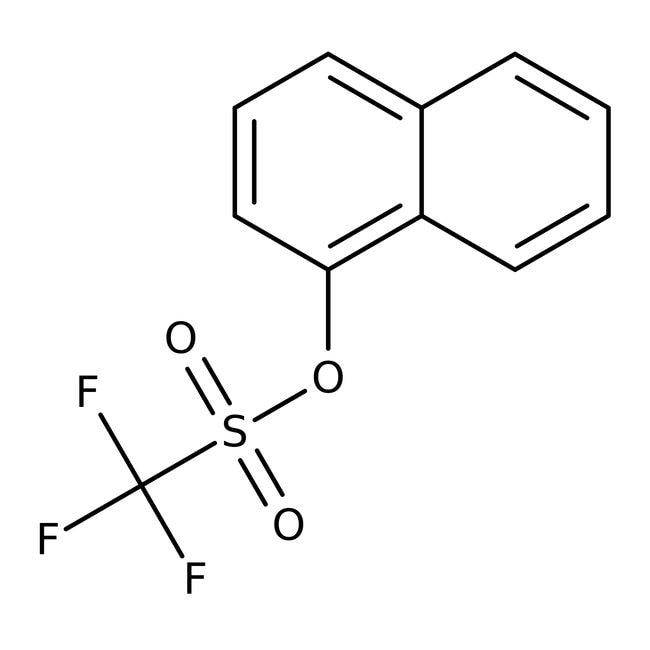 Alfa Aesar™1-Naphthyl trifluoromethanesulfonate, 97%