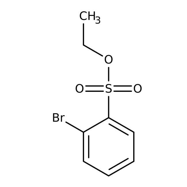 Alfa Aesar™Ethyl 2-Brombenzensulfonat, 97% 250mg Alfa Aesar™Ethyl 2-Brombenzensulfonat, 97%