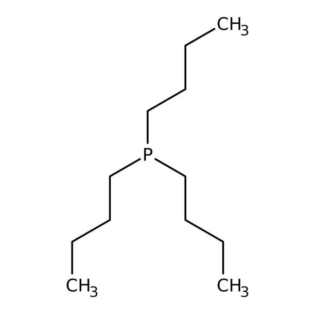 Tri-n-butylphosphine, 95%, AcroSeal™, ACROS Organics™ 800mL; AcroSeal glass bottle Tri-n-butylphosphine, 95%, AcroSeal™, ACROS Organics™