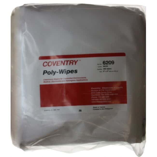 Chemtronics Coventry Poly-Wipes 9.0 x 9.0 in:Gloves, Glasses and Safety