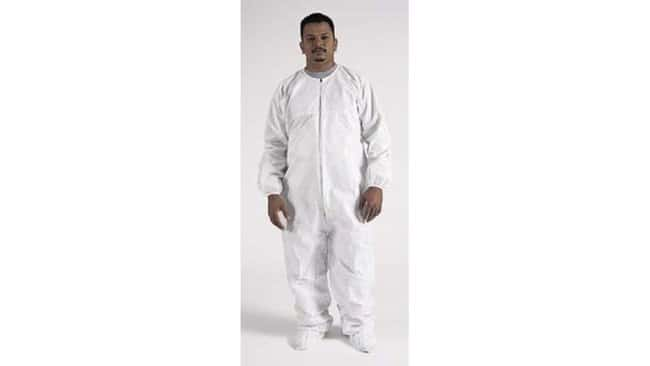 CleanWear Tyvek Disposable Coveralls with Elastic Ankles and Wrists:Gloves,