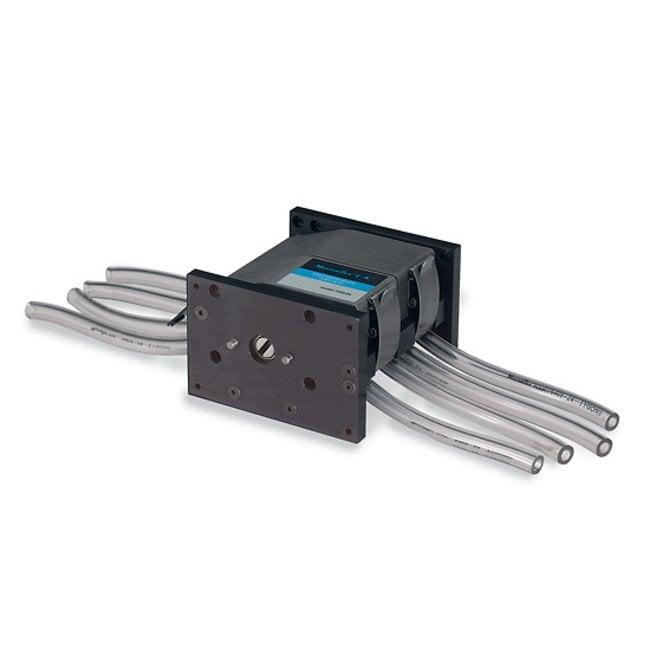Masterflex™Stainless Steel Rotor Multichannel Pump Head 4-channel Pump Head; Flow Rate: 1.6 to 2300mL/min. Masterflex™Stainless Steel Rotor Multichannel Pump Head