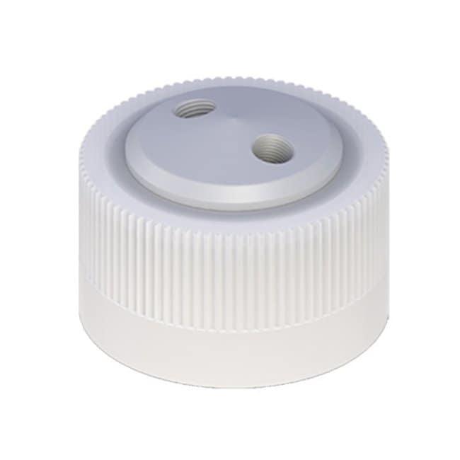 Cole-Parmer™VapLock™ Lösungsmittelverschlüsse zwei 1/4Zoll-28Anschlüsse, 38-430; 1Stück Cole-Parmer™VapLock™ Lösungsmittelverschlüsse