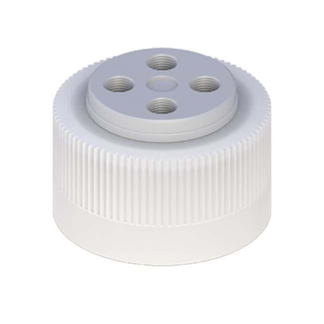Cole-Parmer VapLock Solvent Delivery Caps with Inlet Valve and Filter EPDM