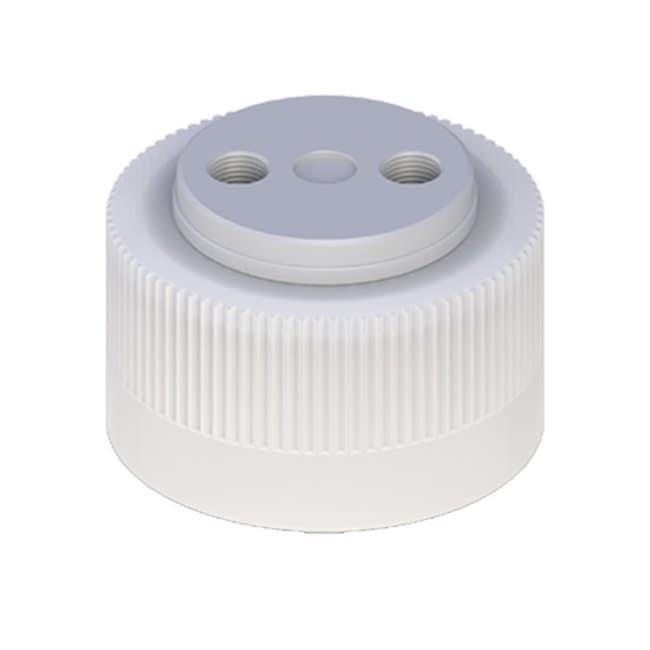 Cole-Parmer™VapLock™ Lösungsmittelverschlüsse mit Einlassventil und Filter Viton-Lufteinlassventil, zwei 1/4 Zoll-28Anschlüsse, 38-430; 1Stück Cole-Parmer™VapLock™ Lösungsmittelverschlüsse mit Einlassventil und Filter