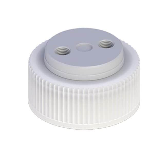 Cole-Parmer™VapLock™ Lösungsmittelverschlüsse mit Einlassventil und Filter FFKM-Lufteinlassventil, zwei 1/4Zoll-28-Anschlüsse, 38mm Wako; 1Stück Cole-Parmer™VapLock™ Lösungsmittelverschlüsse mit Einlassventil und Filter