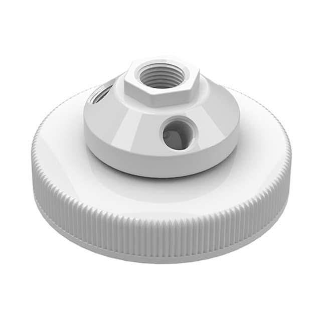 Cole-Parmer VapLock Solvent Waste Manifold Caps for Jars and Pails PP,