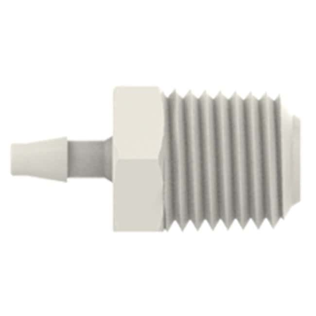 Cole-Parmer VapLock Adapters for Flexible Tubing 1/8 in ID x 1/4 in NPT(M),