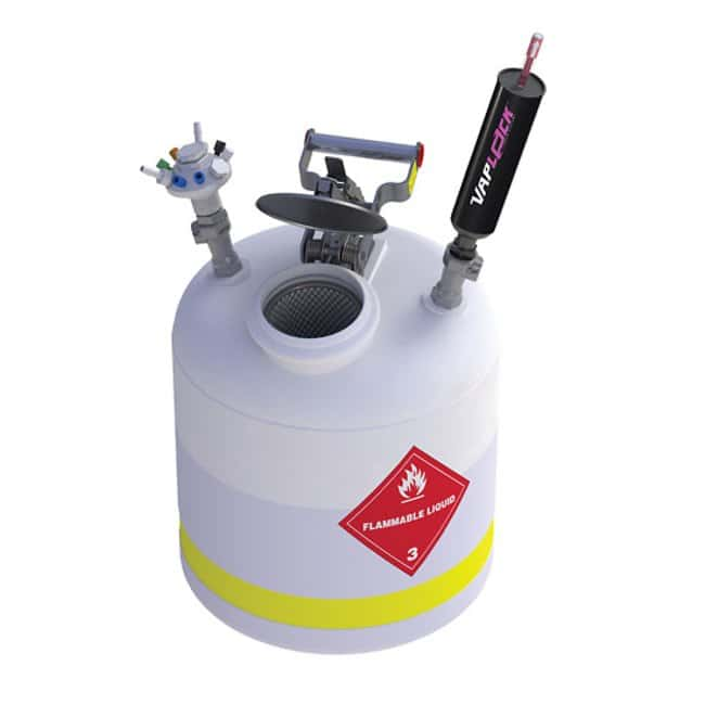 Cole-ParmerVapLock Solvent Collection Systems with Quick Disconnects and