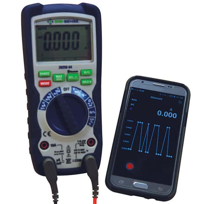 Heavy-Duty Industrial Digital Multimeter with Bluetooth(T) Connectivity