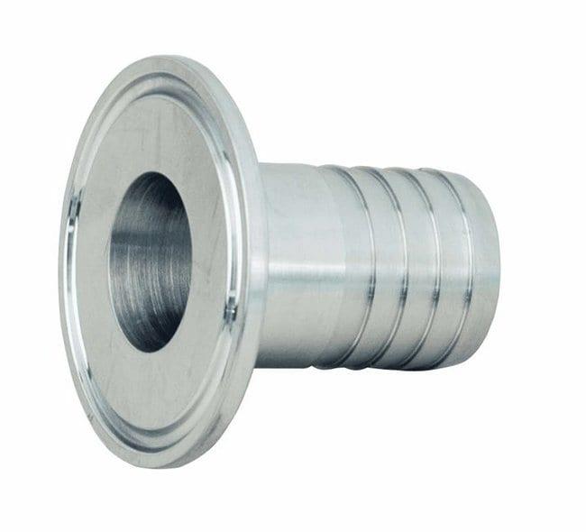 Masterflex™Adapter für Hygieneklemmen aus Edelstahl, Stecknippel Fits Tubing (Inner Diameter): 3/4 in. Clamp x 3/8 in. Masterflex™Adapter für Hygieneklemmen aus Edelstahl, Stecknippel