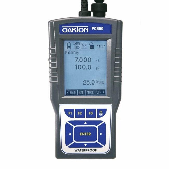 Oakton™PC 650 Waterproof Handheld Multiparameter Meter Kit