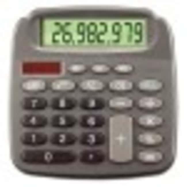 FisherbrandSolar Desktop Calculator, 8-Digit 8-Digit; 16.5L x 11.4W x 0.9cm